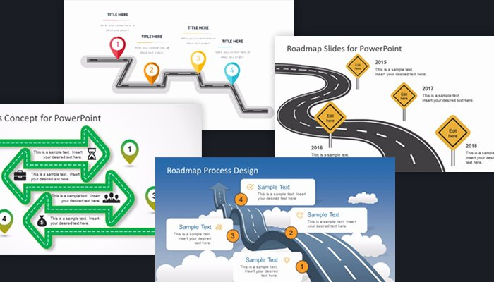 Roadmap Ppt Template Free Lovely 25 Free Project Roadmap Powerpoint Templates Mashtrelo