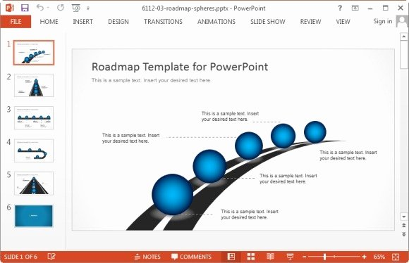 Roadmap Ppt Template Free New Best Project Management Powerpoint Templates