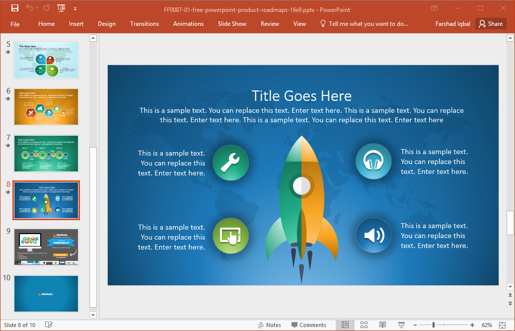Roadmap Ppt Template Free Unique Best Roadmap Templates for Powerpoint