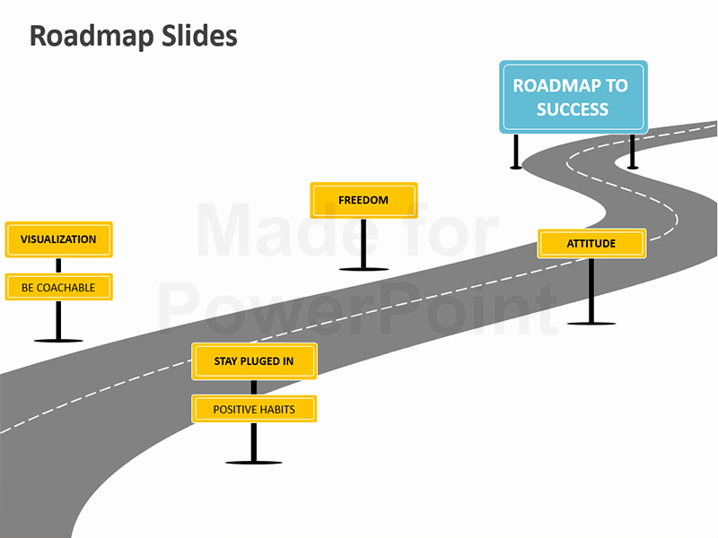 Roadmap Ppt Template Free Unique Powerpoint Roadmap Analogy Template Editable Slides