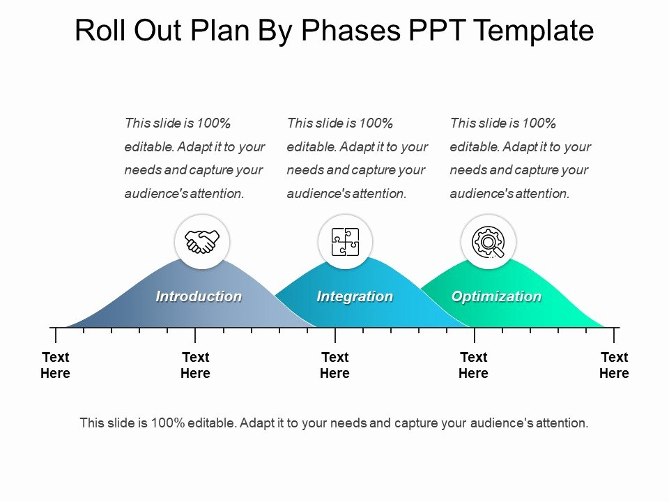 Roll Out Plan Template New Roll Out Plan by Phases Ppt Template