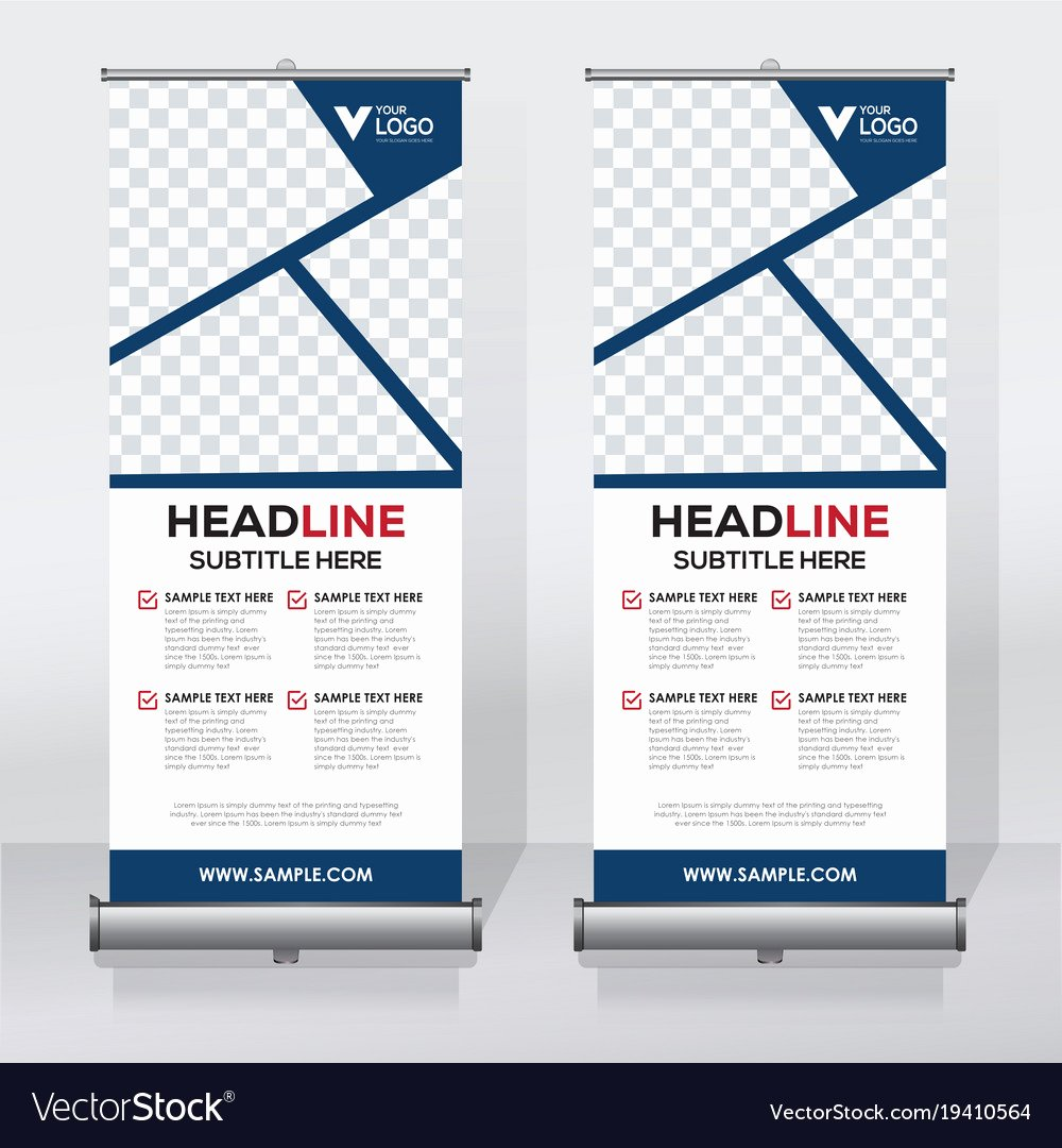 Roll Up Banners Template Inspirational Standard Size Roll Up Banner Best Banner Design 2018