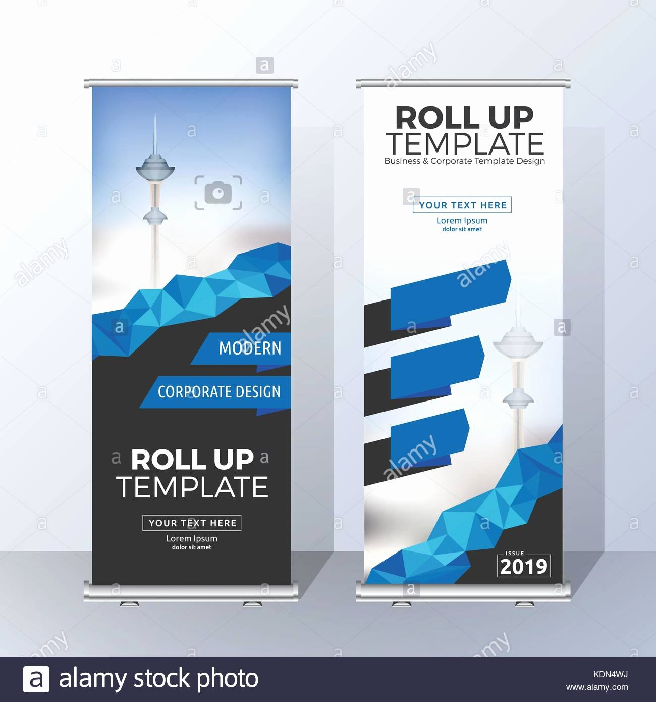 Roll Up Banners Template Inspirational Vertical Roll Up Banner Template Design for Announce and