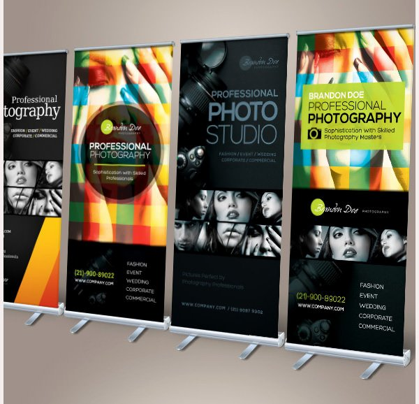 Roll Up Banners Template New 61 Printable Banner Templates Free Psd Ai Vector Eps