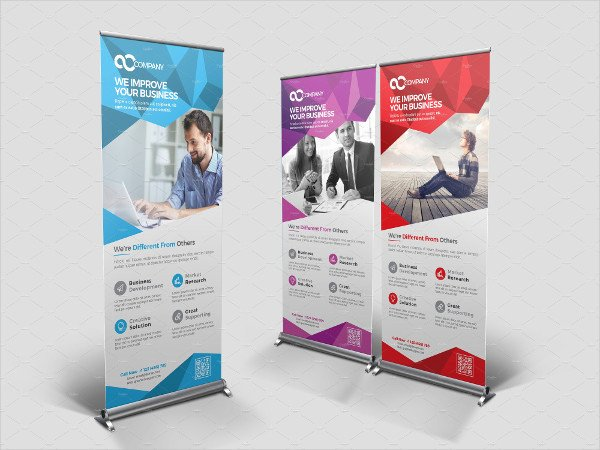 Roll Up Banners Template New Roll Up Banner Templates 14 Free Psd Vector Ai Eps