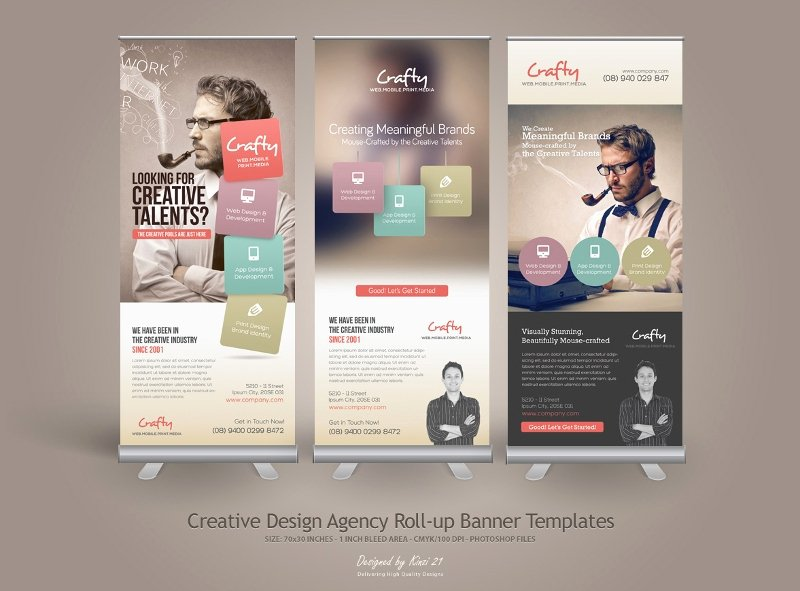 Roll Up Banners Template Unique 32 Roll Up Banner Designs & Templates Psd Ai