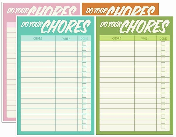 Roommate Chore Chart Template Beautiful Free Printable Chore Charts
