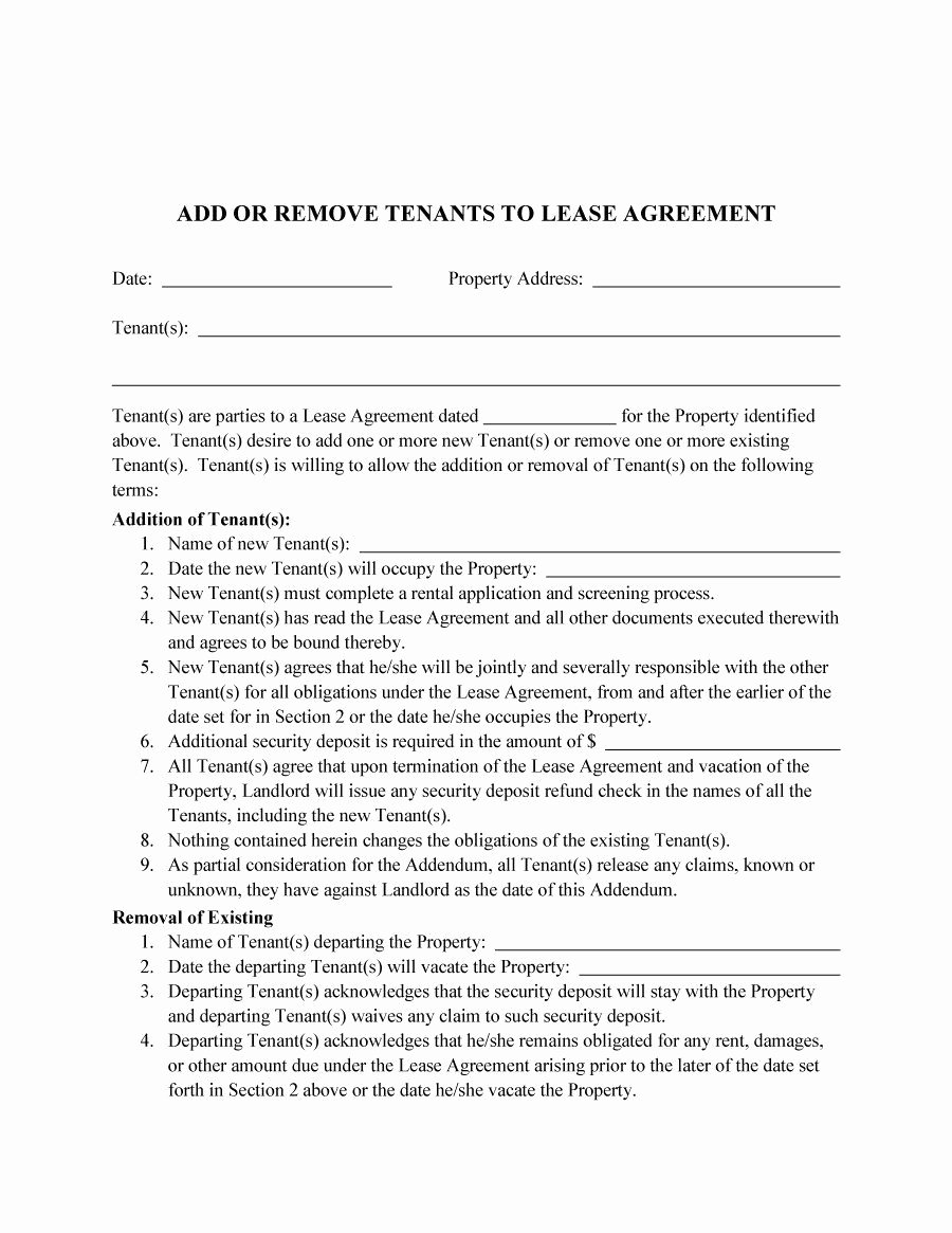 Roommate Rental Agreement Template Elegant Roommate Agreement Template 02 Lease