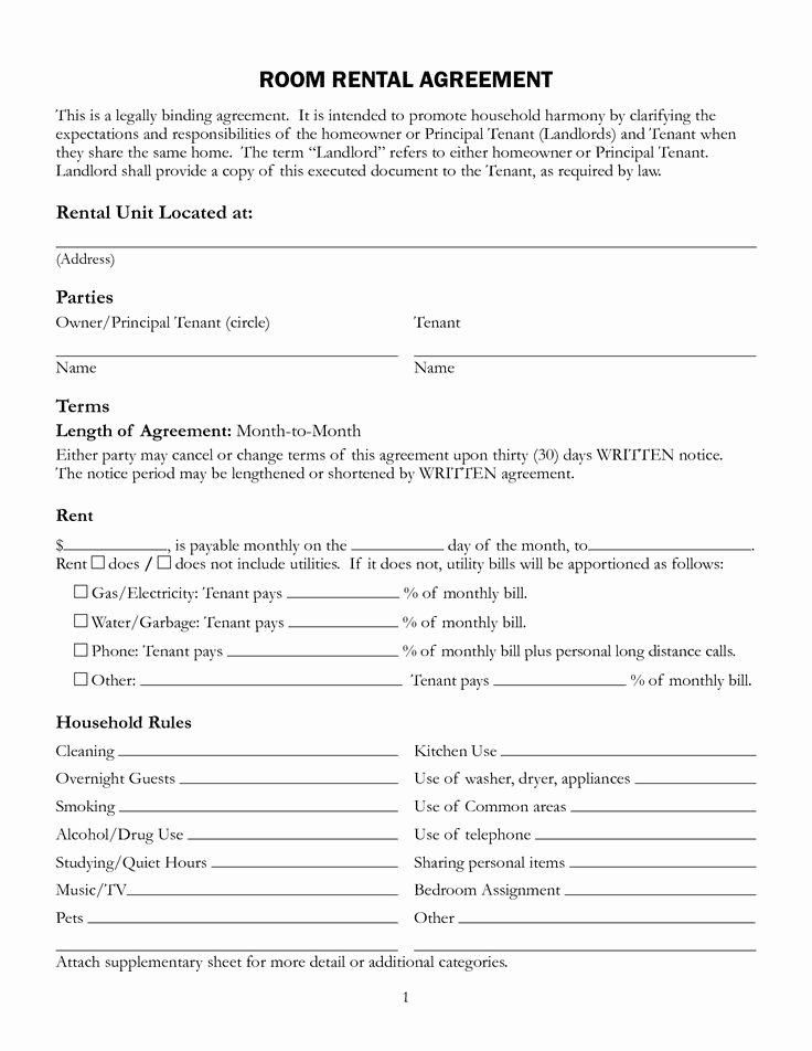 Roommate Rental Agreement Template Inspirational Best 25 Roommate Contract Ideas On Pinterest