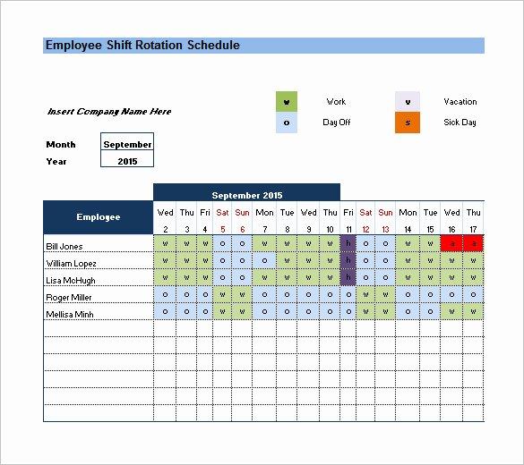 Rotating Weekend Schedule Template Fresh Rotating Weekend Schedule Template