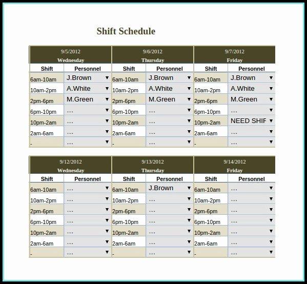 Rotating Weekend Schedule Template Luxury Rotating Weekend Schedule Template Templates 1 Resume