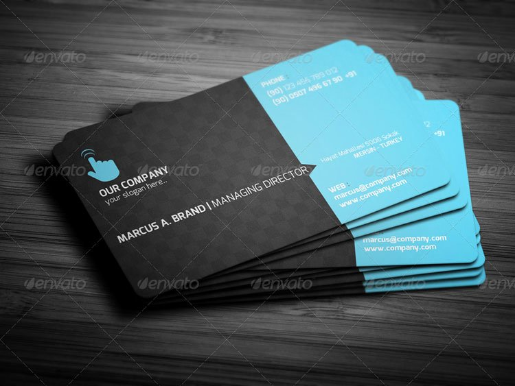 Round Business Cards Template Inspirational 10 Round Corner Business Card Mockup Psd Templates Free