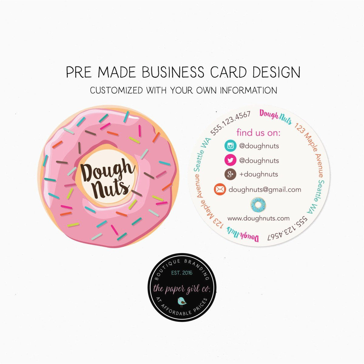 Round Business Cards Template Inspirational 36 Business Card Stickers Download