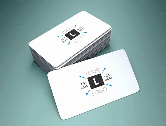 Round Business Cards Template Unique Visiting Card Template 19 Free Sample Example format