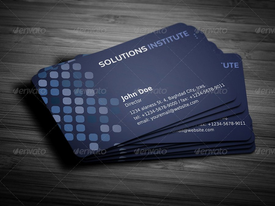 Rounded Business Card Template Awesome Corporate Business Card Template Vol 36 by Ow