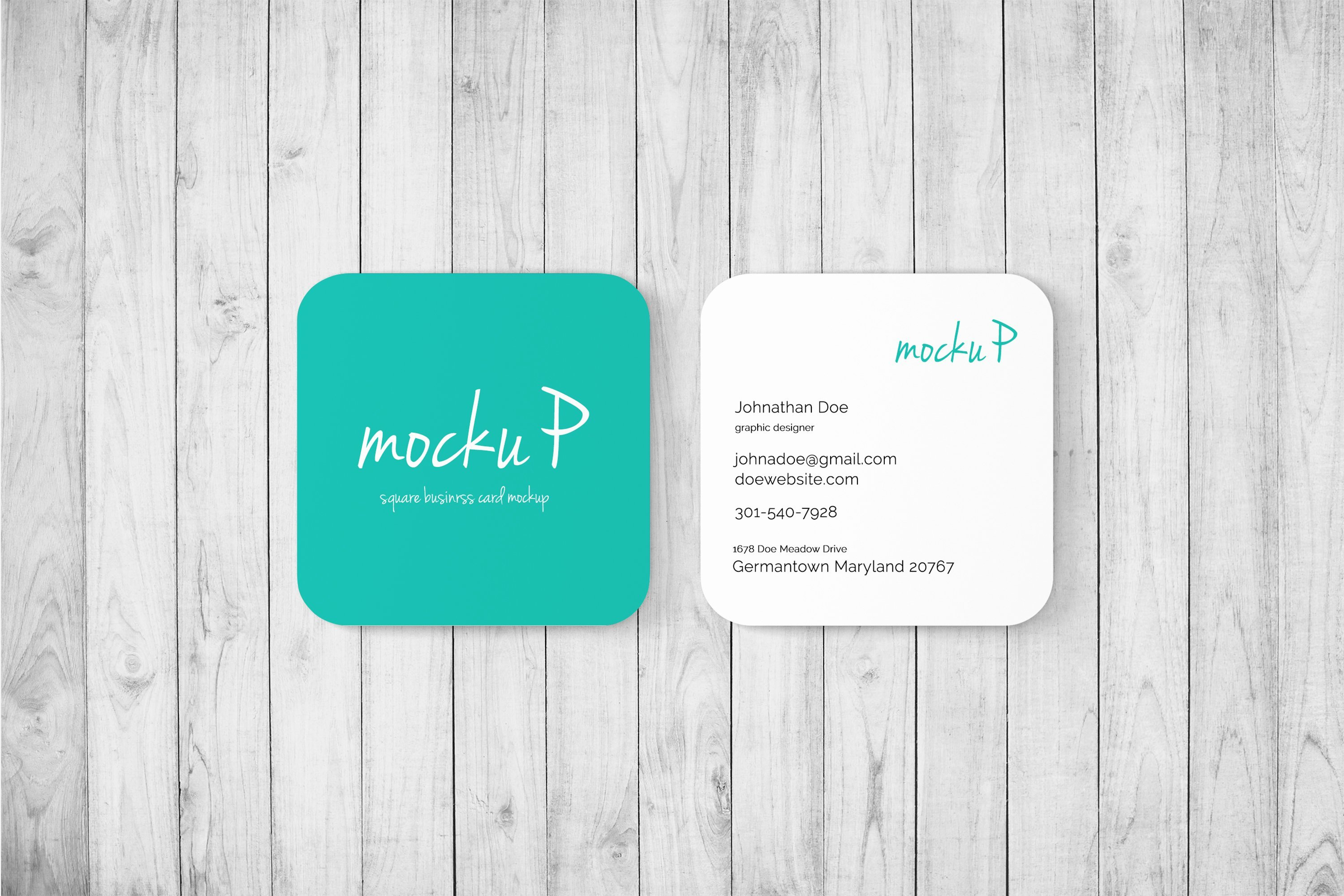 Rounded Business Card Template Best Of Square Business Card Rounded Cor Print Mockups