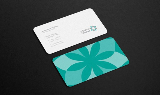 Rounded Business Card Template Elegant 20 Cool Rounded Corner Business Cards