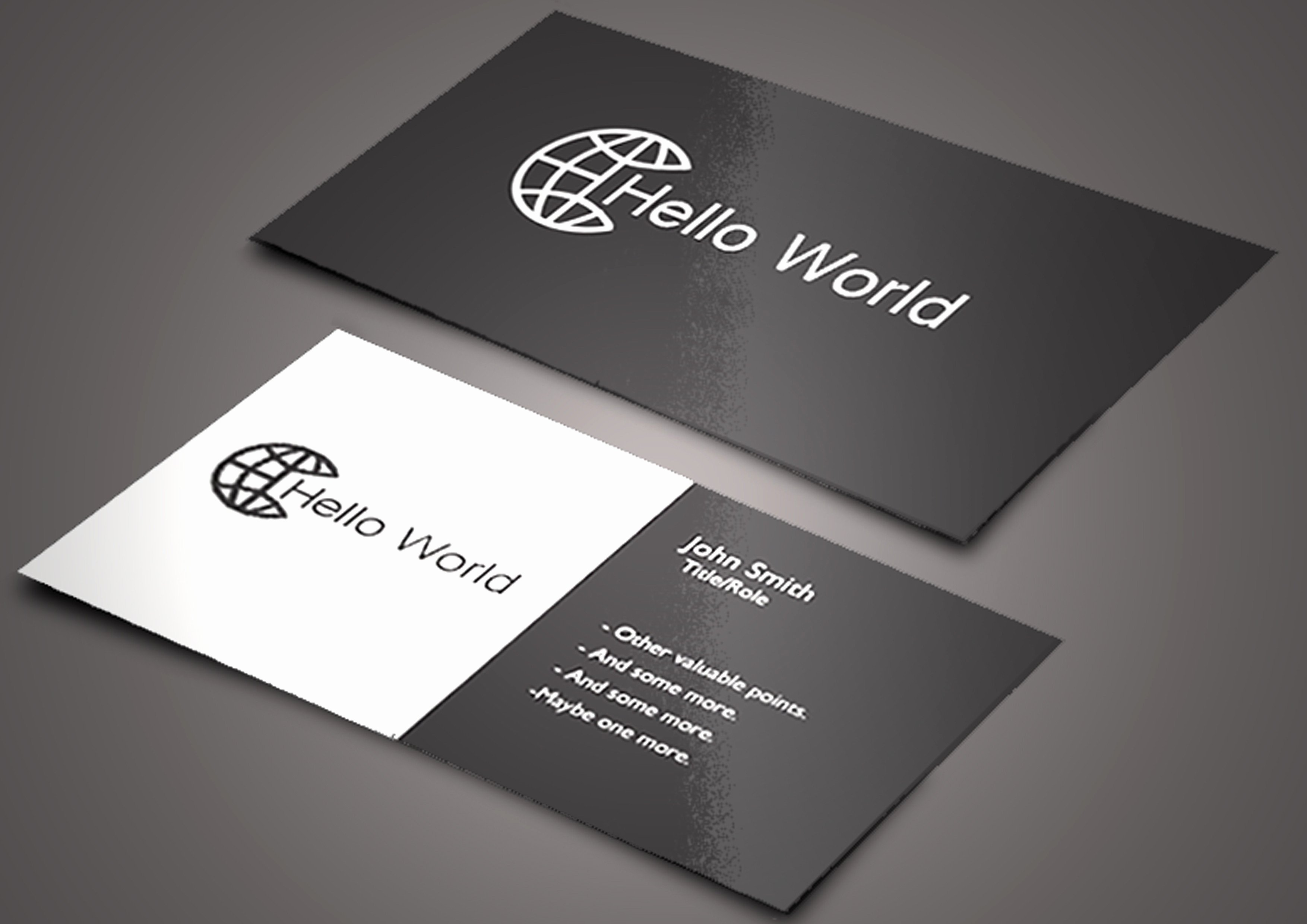 Rounded Business Card Template Inspirational Business Card Rounded Corners Template Beautiful Business