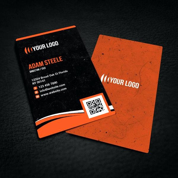 Rounded Business Card Template Luxury Free Rounded Corner Business Card Design Plimentary