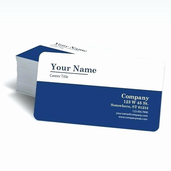 Rounded Business Cards Template Elegant Business Card Rounded Corners Template – Vungtaufo