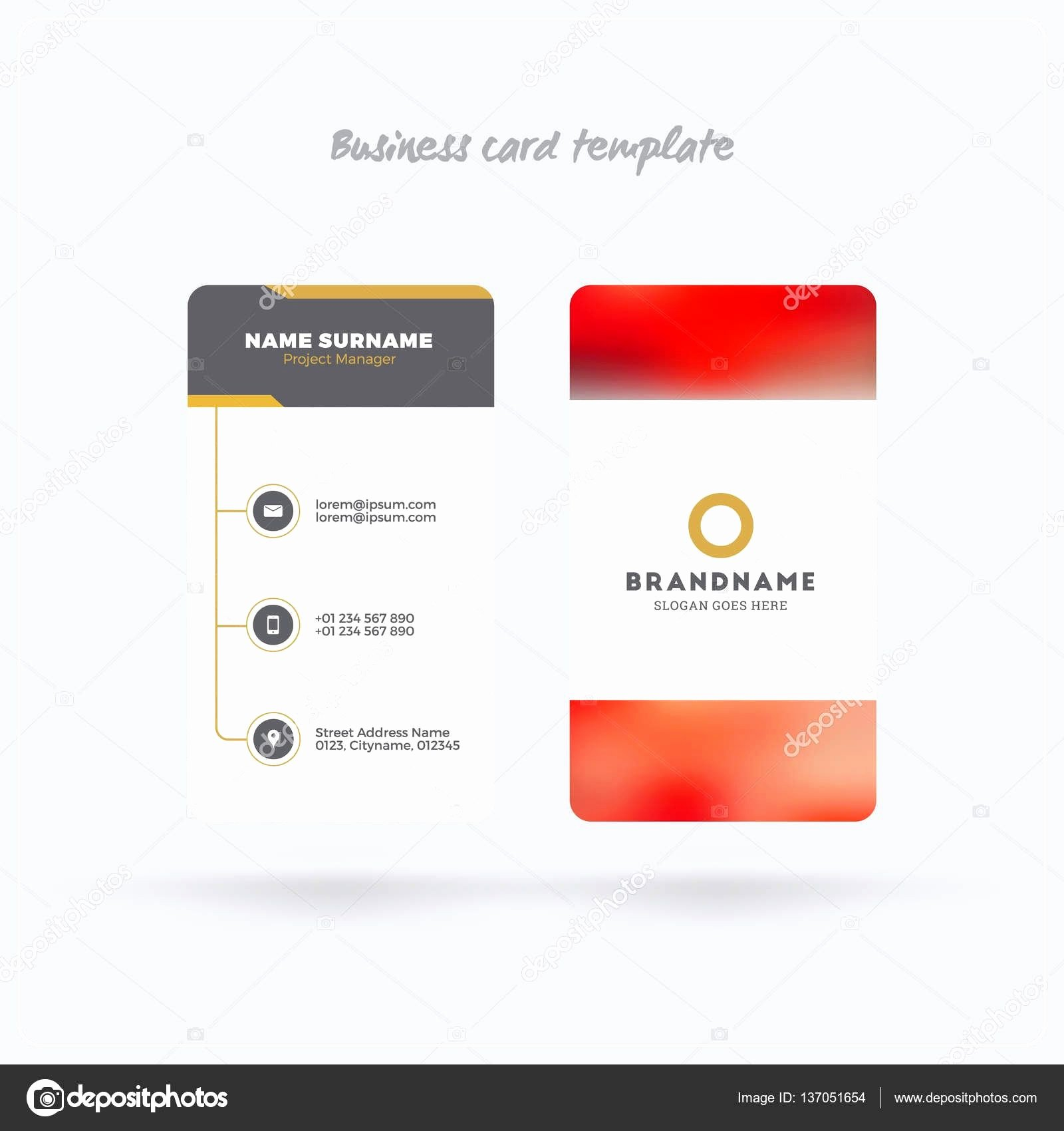 Rounded Business Cards Template New Business Card Rounded Corners Template Elegant Rounded