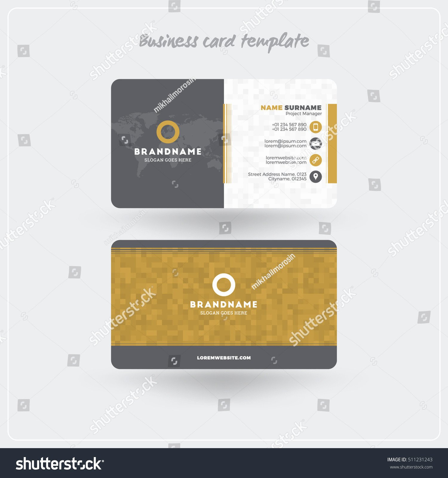 Rounded Business Cards Template Unique Business Card Rounded Corners Template Elegant Rounded