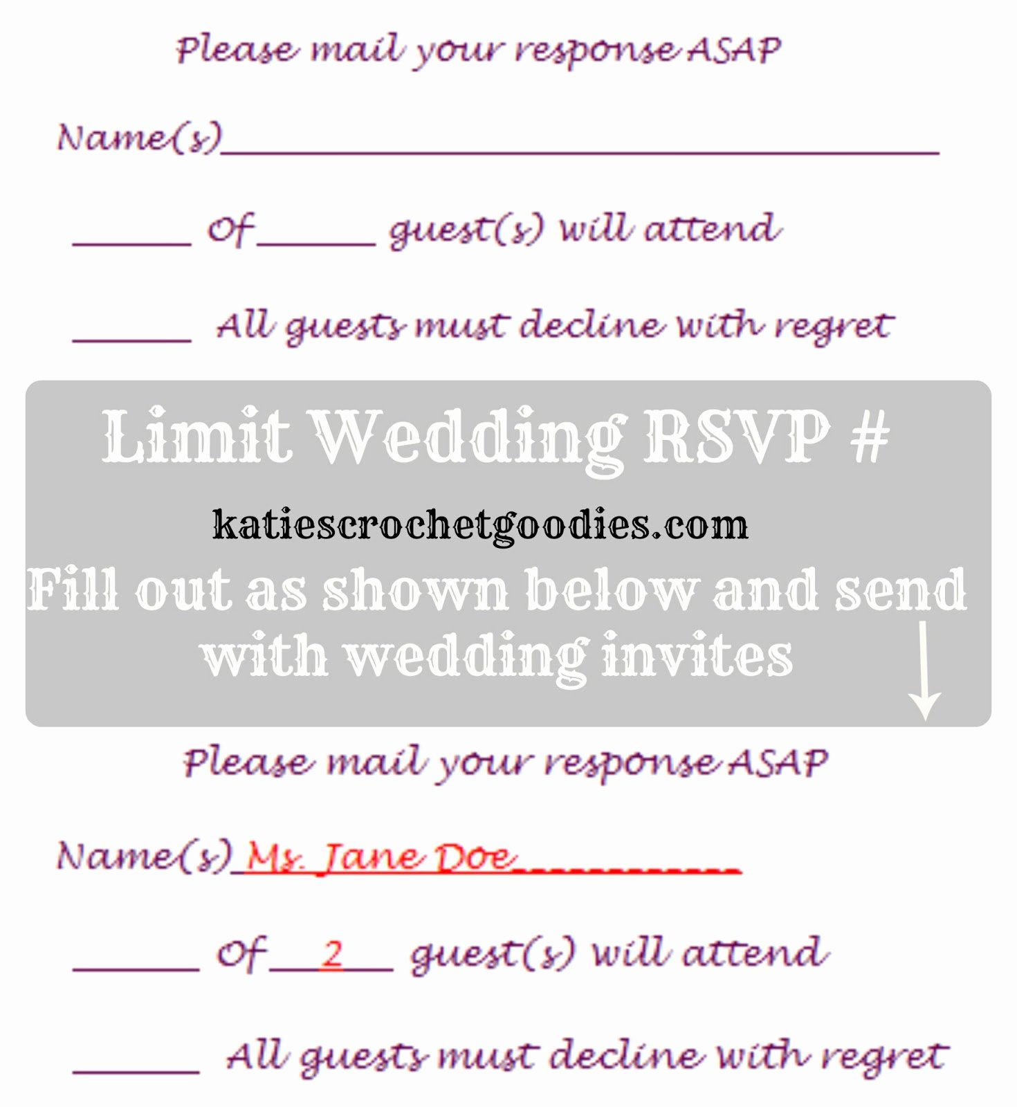 Rsvp Cards Template Free Awesome Free Wedding Templates Rsvp & Reception Cards Katie S