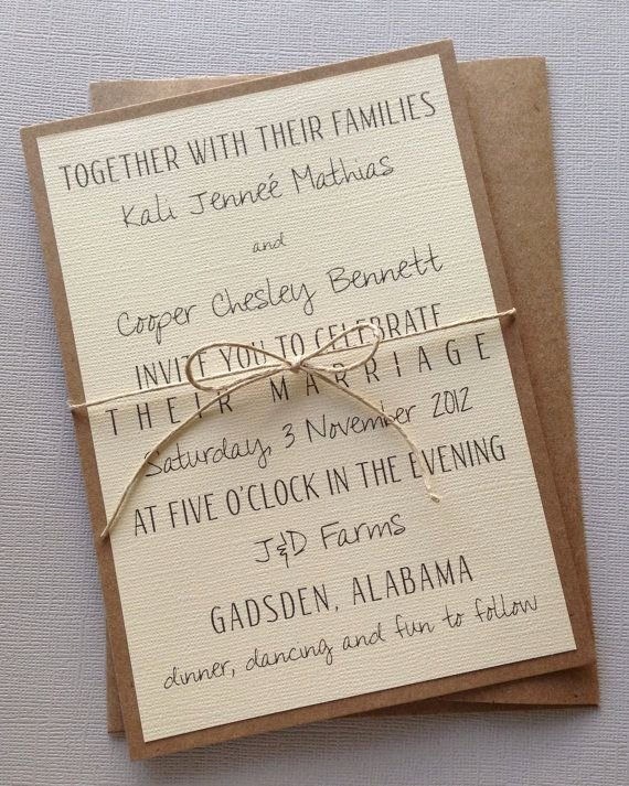 Rustic Wedding Invitation Template Awesome Best 25 Wedding Invitation Wording Ideas On Pinterest