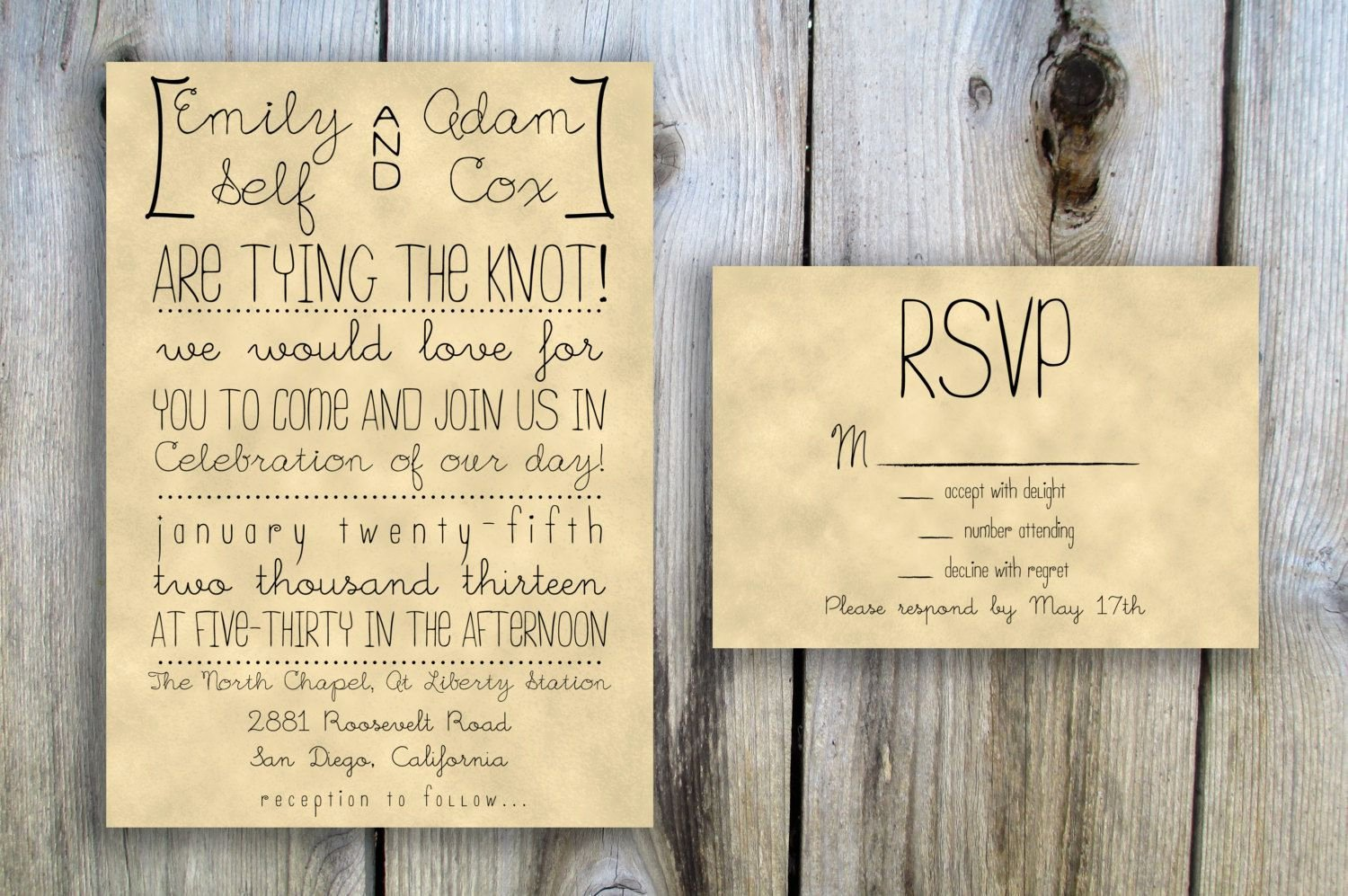 Rustic Wedding Invitations Template Awesome Rustic Wedding Invitation Templates