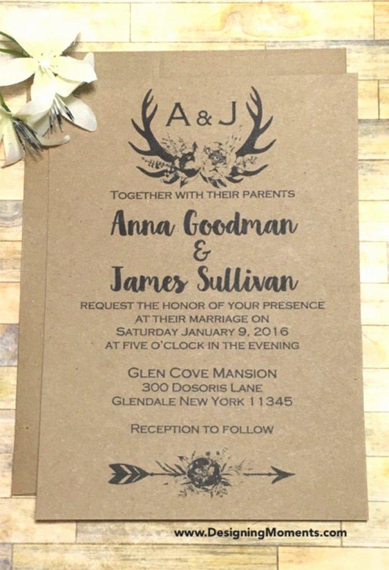 Rustic Wedding Invitations Template Fresh Country Wedding Invitation Templates – orderecigsjuicefo