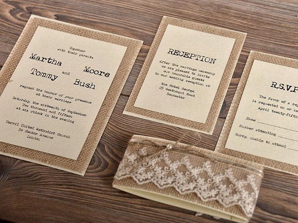 Rustic Wedding Invitations Template Lovely 28 Rustic Wedding Invitation Design Templates Psd Ai