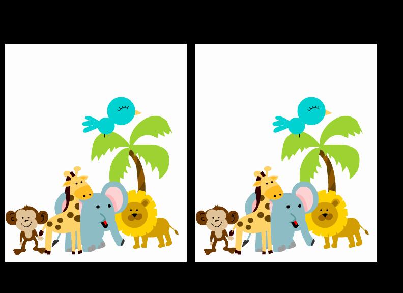 Safari Invitation Template Free Luxury Free Printable Jungle Baby Shower Invitations