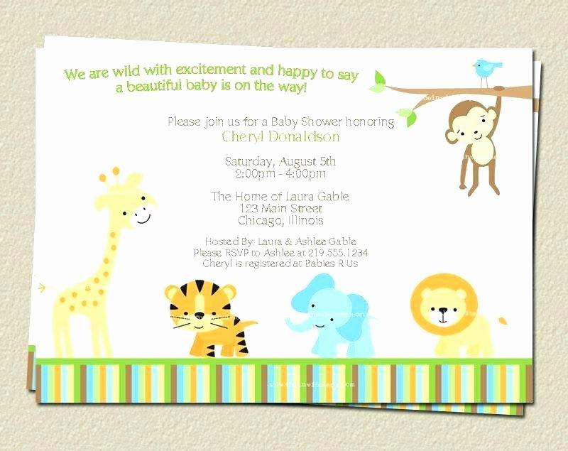 Safari Invitation Template Free Luxury Glamorous Safari theme Invitation African Party