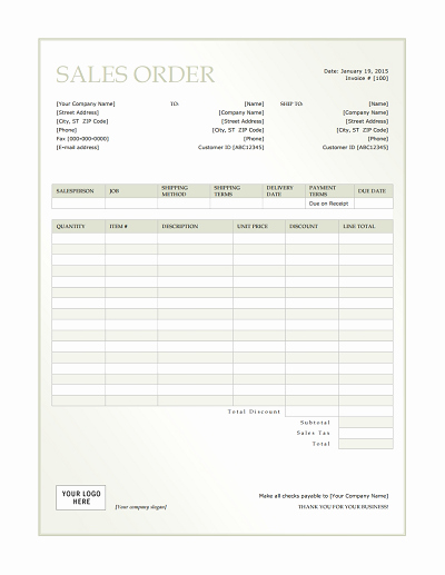 Sale order form Template Unique Sales order Template Free Download Edit Fill Create