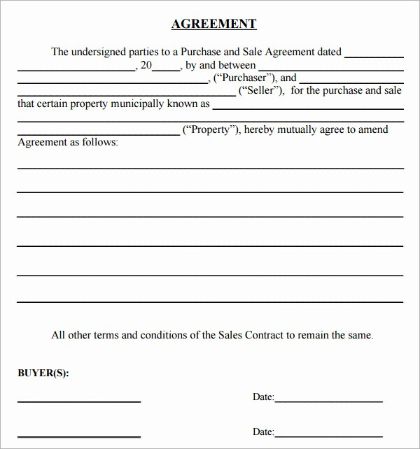 Sales Agreement Template Word Fresh Purchase Agreement 15 Download Free Documents In Pdf Word