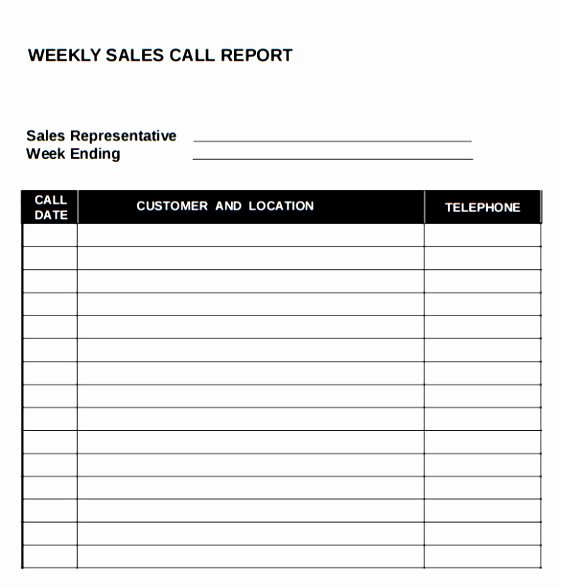 Sales Call Planner Template Luxury 10 Sales Call Planning Template Tiury
