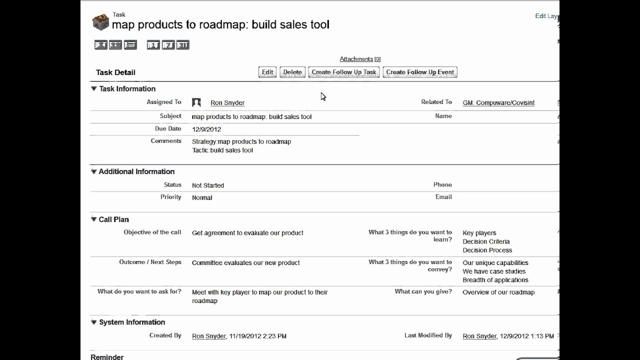 Sales Call Planning Template Awesome Pre Plan Sales Planning Template