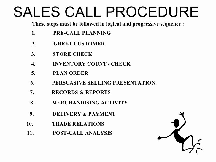 Sales Call Planning Template Inspirational Fmcg Training Modules Bfg