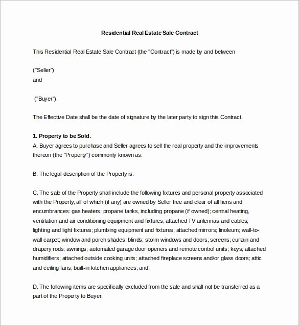 Sales Contract Template Word Inspirational Sales Agreement 10 Download Free Documents In Word Pdf