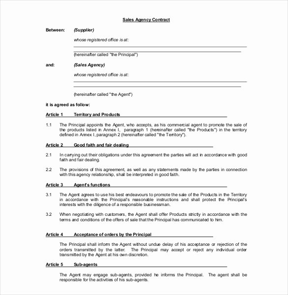 Sales Contract Template Word Lovely 23 Mission Agreement Templates Word Pdf Pages