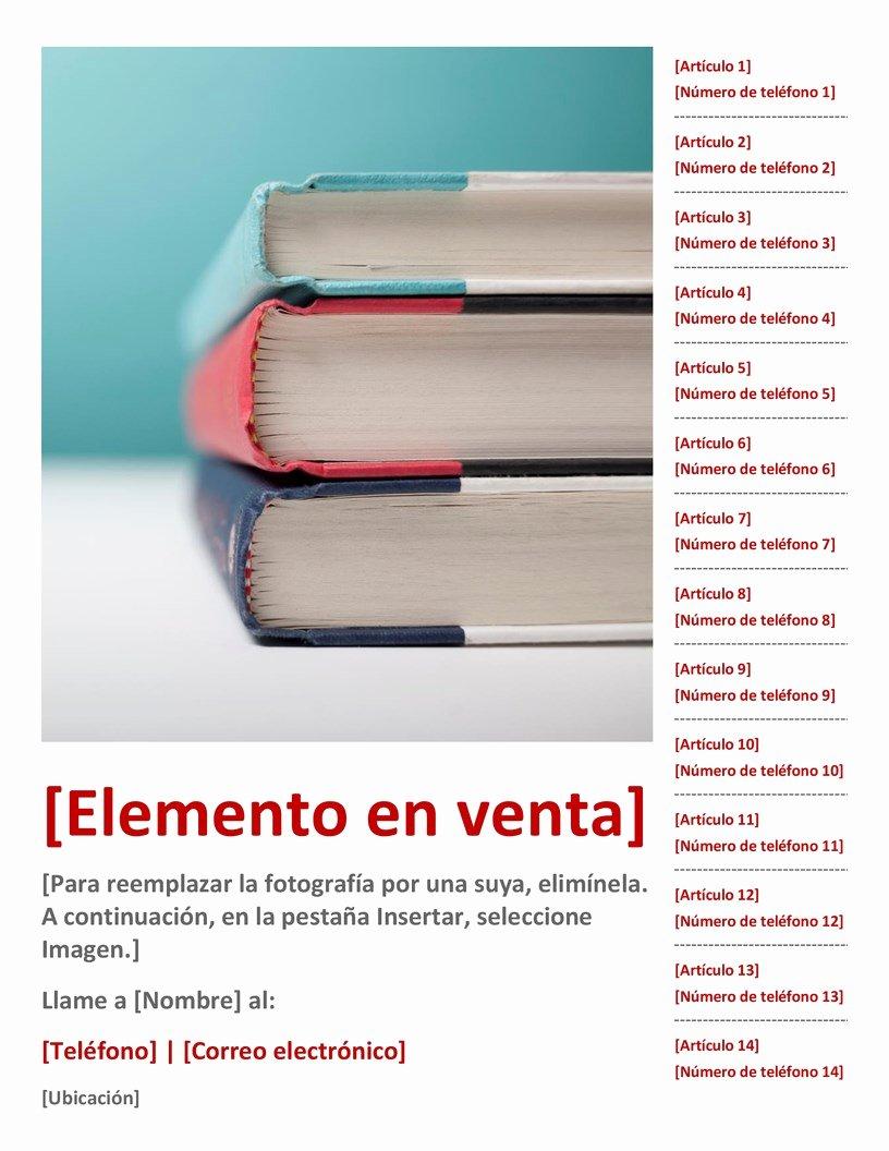 Sales Flyer Template Word Beautiful Prospecto De Ventas