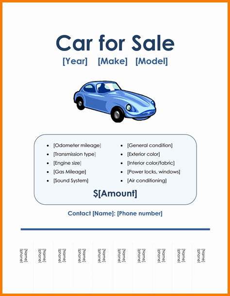 Sales Flyer Template Word Inspirational Microsoft Word for Sale