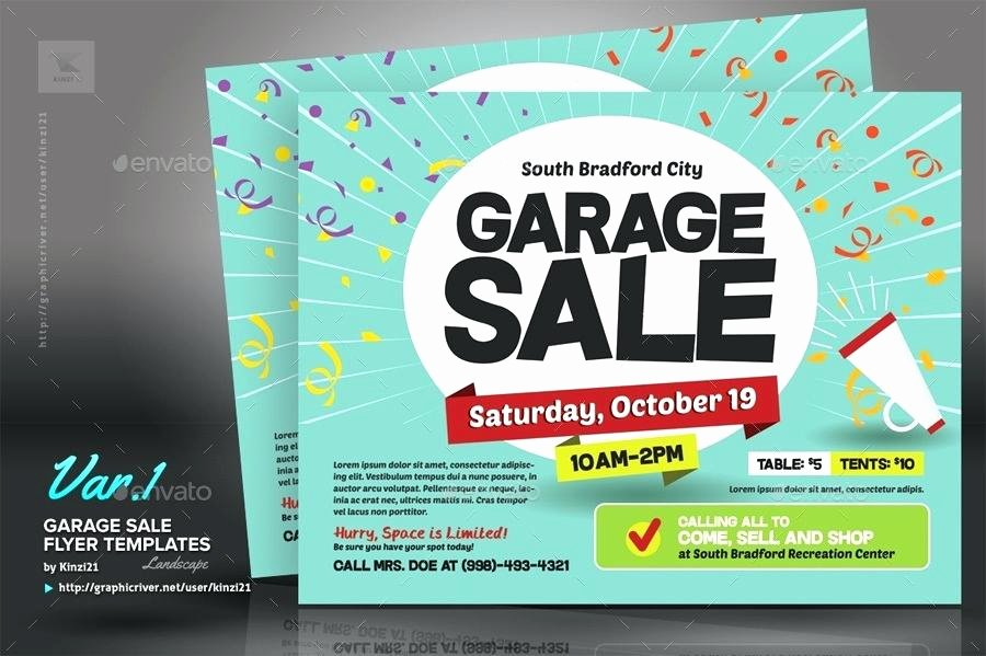 Sales Flyer Template Word Lovely Yard Sale Flyer Template Garage Sale Flyers 8 Yard Sale