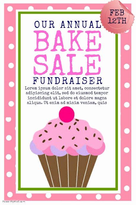 Sales Flyer Template Word Luxury Copy Of Bake Sale