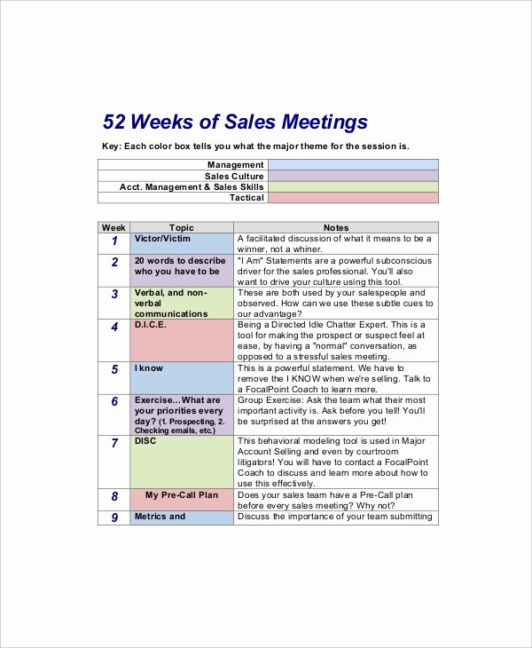 Sales Meeting Agenda Template Inspirational 12 Sales Meeting Agenda Templates – Free Sample Example