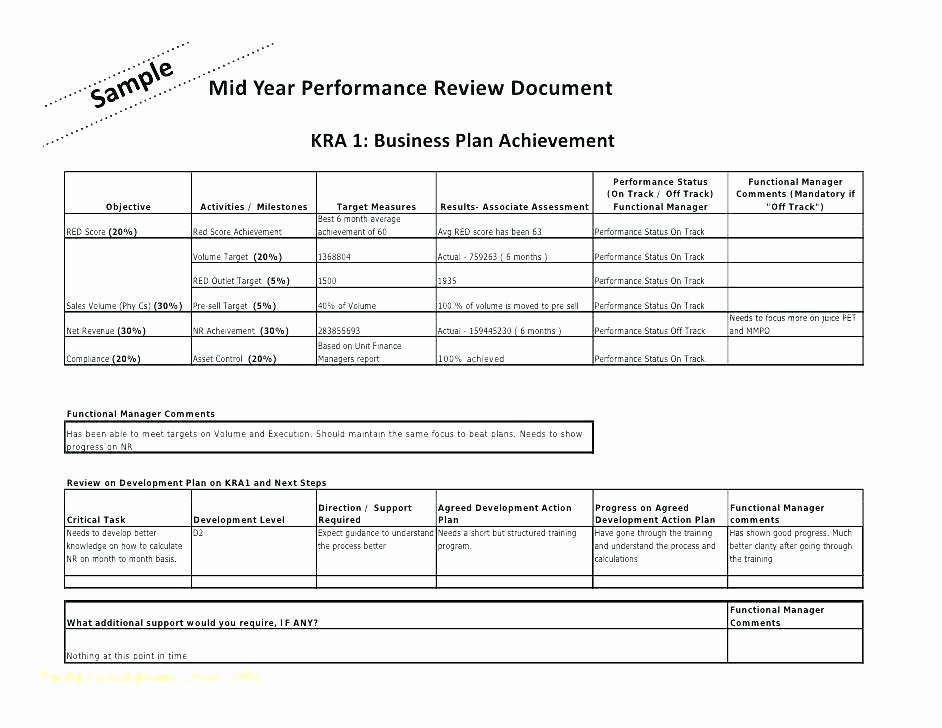 Sales Performance Review Template Beautiful Sales Employee Evaluation form Templates Sales