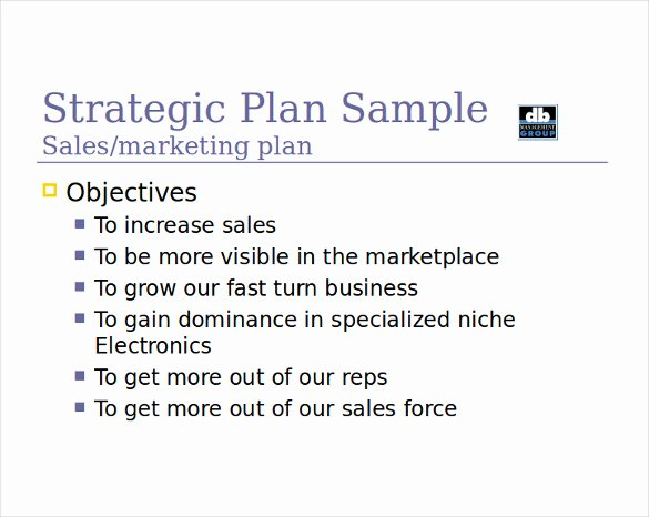 Sales Plan Template Ppt Fresh 12 Sales Strategy Templates Doc Pdf