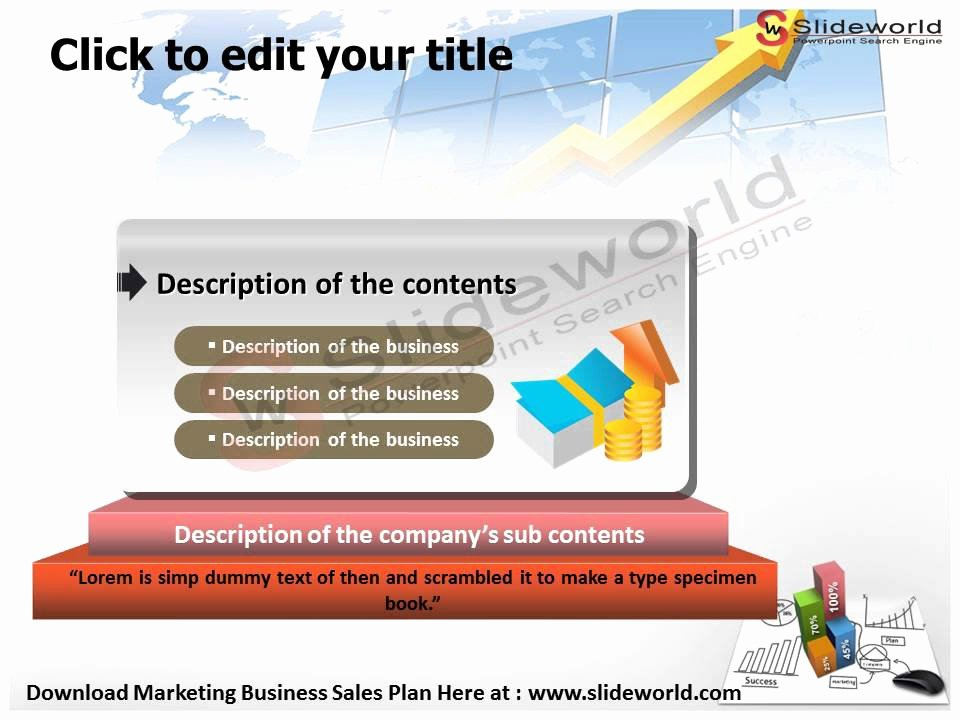Sales Plan Template Ppt New Marketing Business Sales Plan Powerpoint Presentation