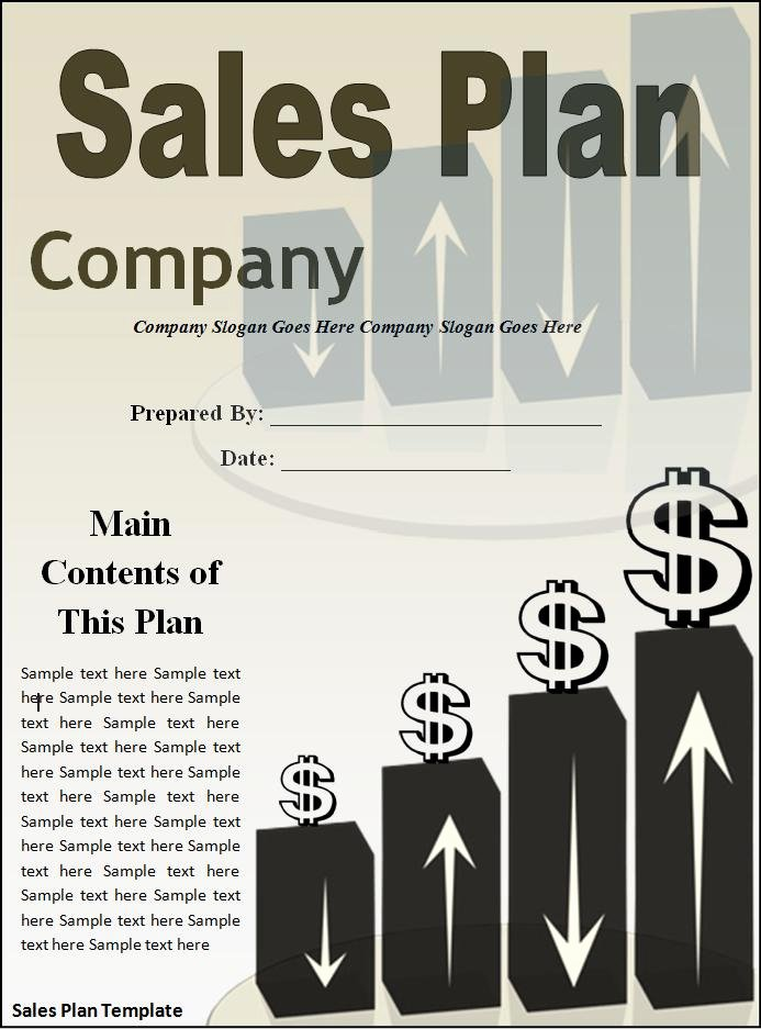 Sales Plan Template Word Fresh Sales Plan Templates 10 Word & Excel
