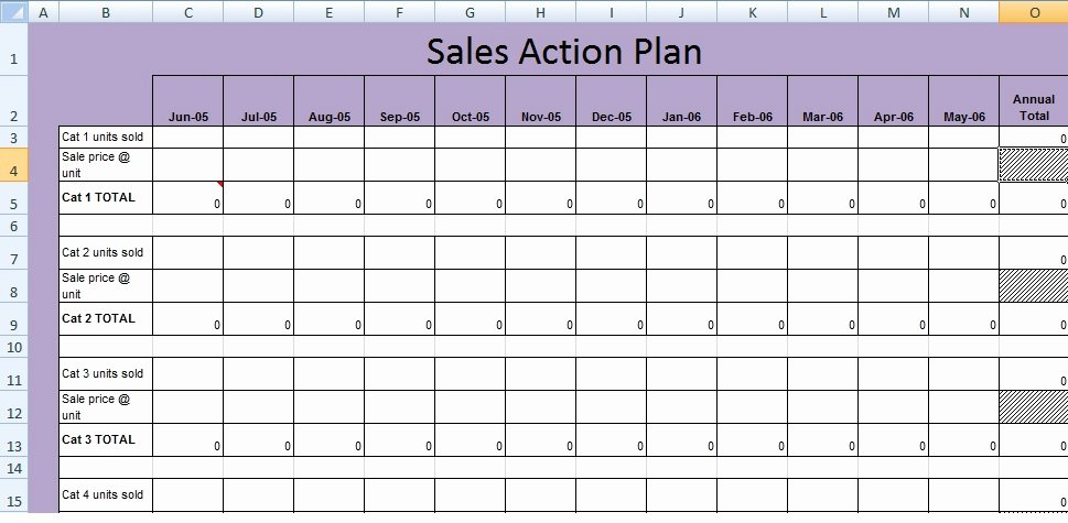 Sales Planning Template Excel Lovely Get Sales Action Plan Template Xls Free Excel